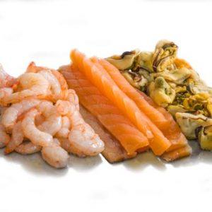 топинг морепродукты