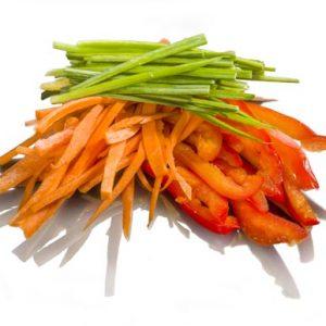 топинг овощи