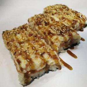 японская пицца сытная